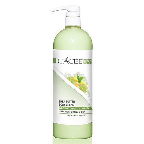 CACEE Sheer Butter Body Cream (MORNING CITRUS) - 34.5 oz