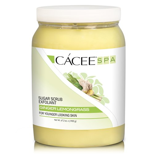 CACEE Sugar Scrub (LEMONGRASS GINGER) - 67.2 oz