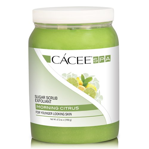 CACEE Sugar Scrub (MORNING CITRUS) - 67.2 oz