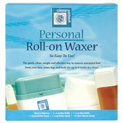 Clean+Easy Personal Roll-On Waxer