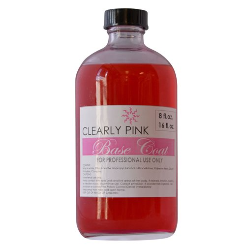 Solar 'Clearly Pink' Base Coat (4oz-8oz-16oz)