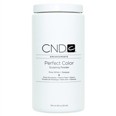 CND Perfect Color Powder-Pure White Opaque - 32 oz