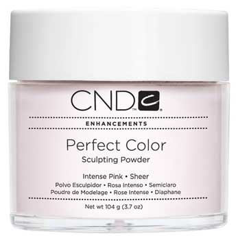 CND Perfect Color Powder-Intense Pink Sheer - 3.7 oz