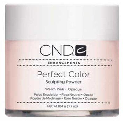 CND Perfect Color Powder-Warm Pink Opaque - 3.7 oz