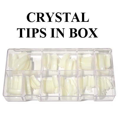 LM Super Crystal Tips - 550pcs/case (0 to 10)