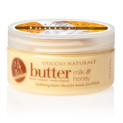 Cuccio Naturale Butter Blend - Milk & Honey - 8 oz