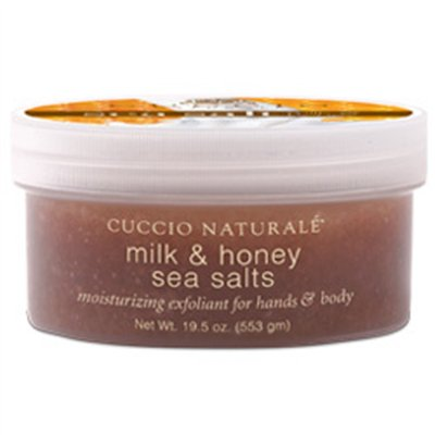 Cuccio Naturale Milk & Honey Sea Salts for Feet - 19.5 oz