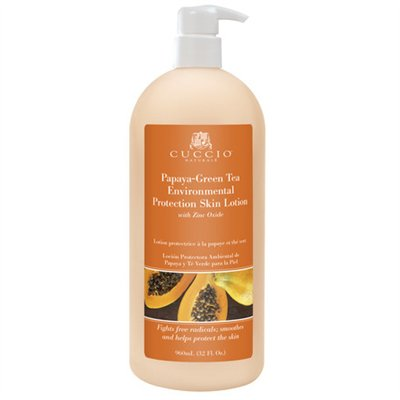 Cuccio Naturale Papaya-Green Tea Lotion - 32 oz