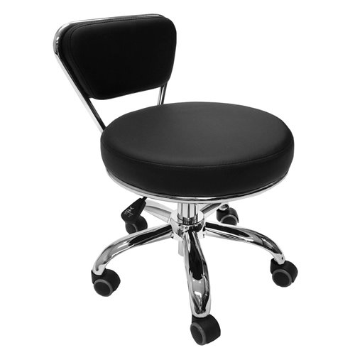 Pedicure Stool DAYTON - Black