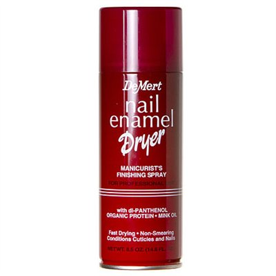 DeMert Nail Enamel Dryer Finishing Spray - 7.5 oz