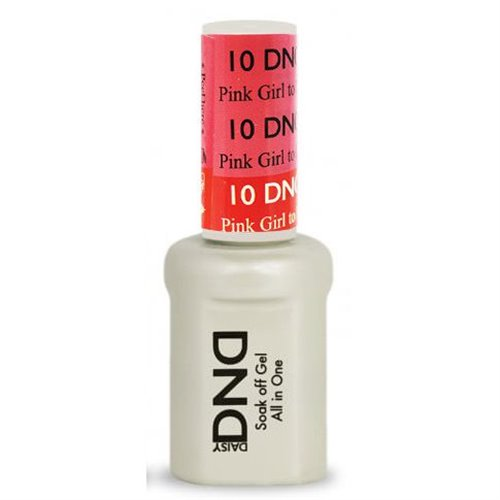 DND Mood Gel 10 - Pink Girl to Red