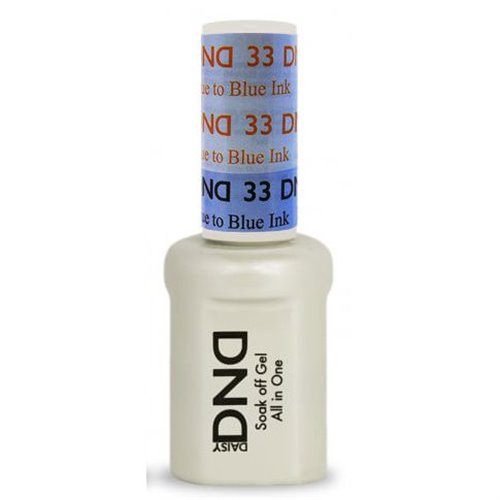 DND Mood Gel 33 - Baby Blue to Blue Ink