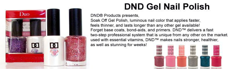 DND Gel Duo, Solar Nails Warehouse