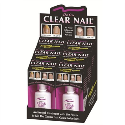 Dr.G's Clear Nail Fungus Treatment - 6pcs/display