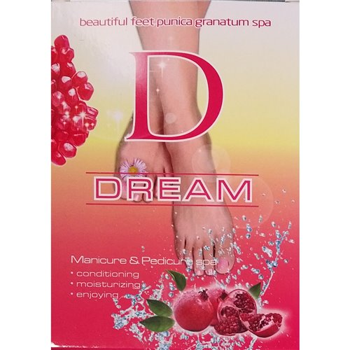 Dream Mani & Pedi Spa - 5 in1 (POMEGRANATE)
