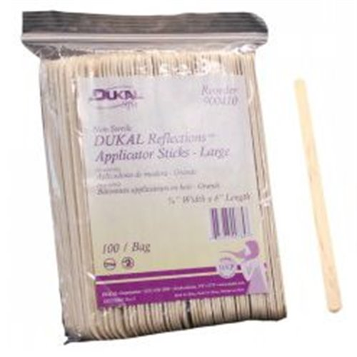 DUKAL Reflections Eyebrows Wax Applicators - 100pcs/pk