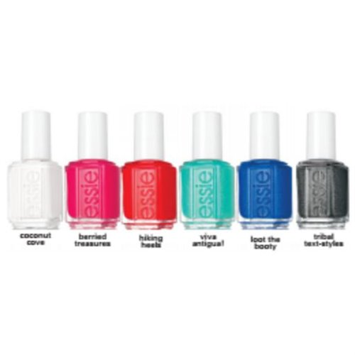 1-ESSIE collection - summer 2016 - 6 pcs