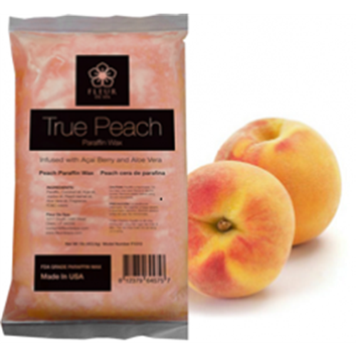 'Fleur De Spa' True Peach Paraffin Wax - 6lbs/box