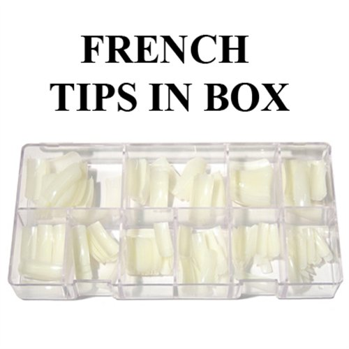LM French Tips (OFF WHITE) - 550pcs/case (0 to 10)