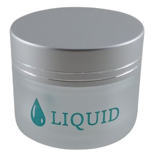 Frosted Glass Jar - 2 oz -  Liquid