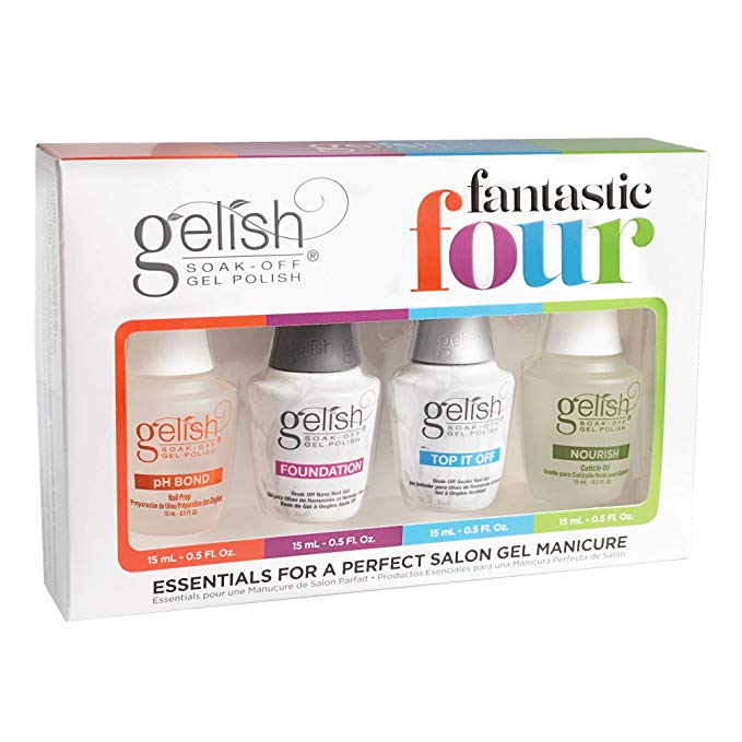 001-Gelish 'Fantastic Four' Pack