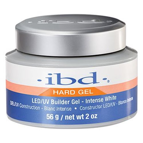 ibd 'Hard Gel' Builder Gel - INTENSE WHITE - 2 oz