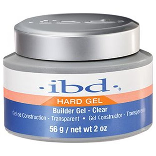 ibd 'Hard Gel' Builder Gel - Clear - 2 oz