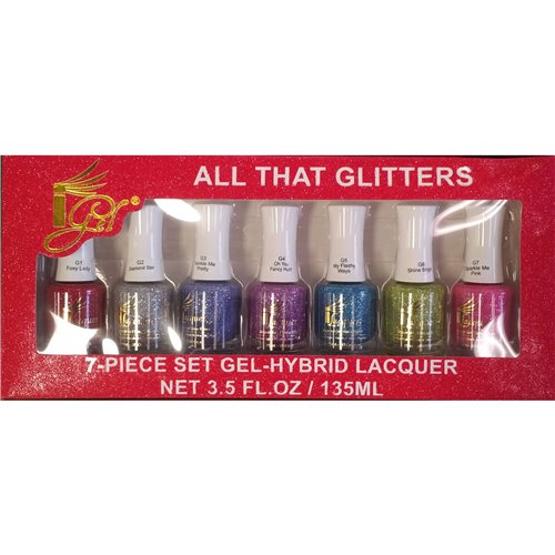 1-Gel Effect Lacquer Collection - All That Glitter