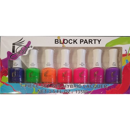 1-Gel Effect Lacquer Collection - Block Party