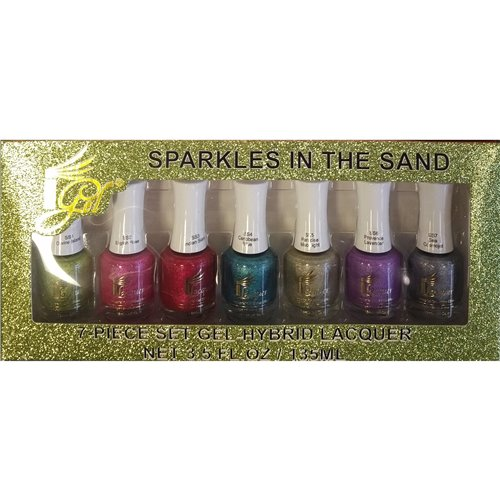 1-Gel Effect Lacquer Collection - Sparkle In The Sand