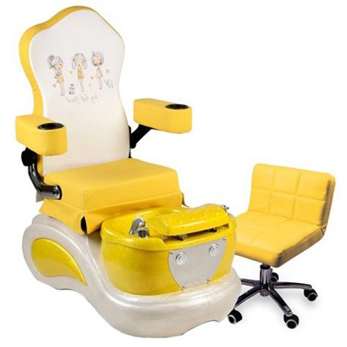 Kid Spa Chair - Yellow