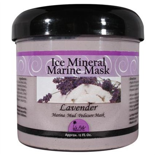 La Palm Ice Mineral Marine Mask - Lavender - 12 oz