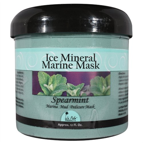 La Palm Ice Mineral Marine Mask - Spearmint - 12 oz