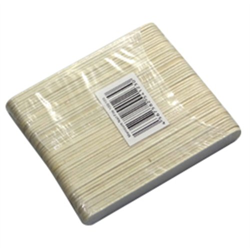 Mini disposable manicure file - Zebra - 50/pack