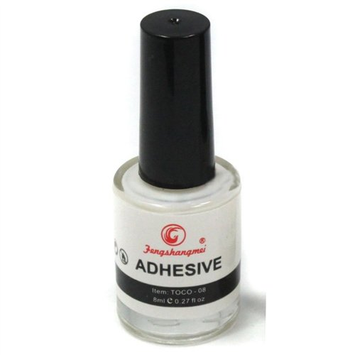 Nail-Art Foil Glue - .5 oz