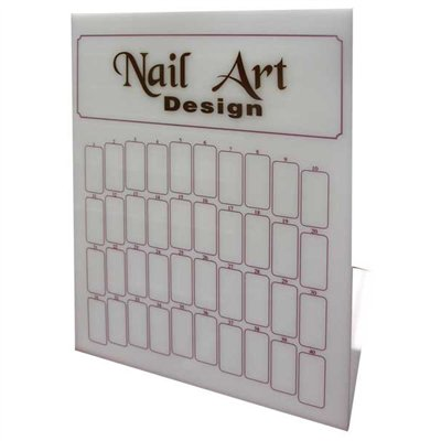 Nail Art Design Acrylic Table Display