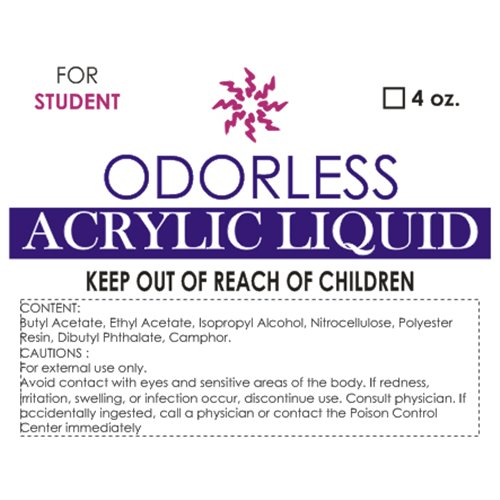 Solar Odorless Liquid (FOR STUDENT) - 4 oz