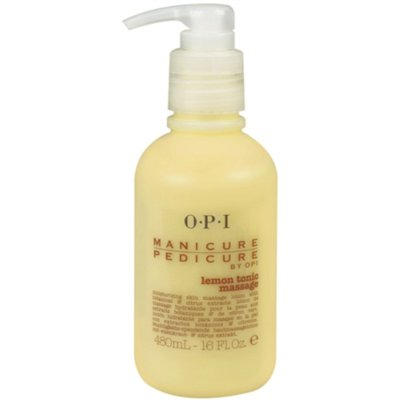 OPI Mani-Pedi Massage 16 oz - Lemon Tonic