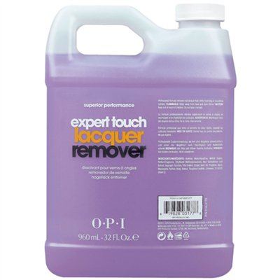 1-OPI Expert Touch Lacquer Remover - 32 oz