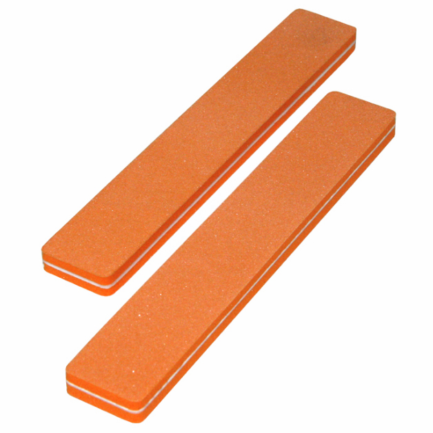 Jumbo Nail File - 80/80 Orange (50/pack)