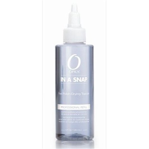 Orly IN A SNAP quick dry top coat - 4 oz
