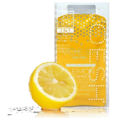 Voesh Pedi in a Box Basic (3-in-1) Lemon Quench