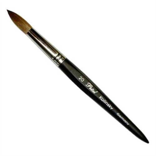 Petal 6 angles Kolinsky Brush