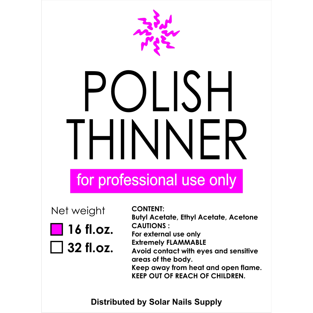 Polish Thinner - 16 oz