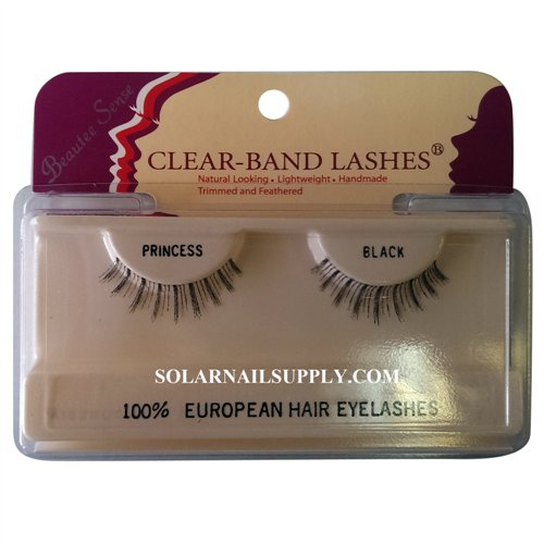 Beautee Sense Clear-Band Lashes (princess) - Black - 1 pack