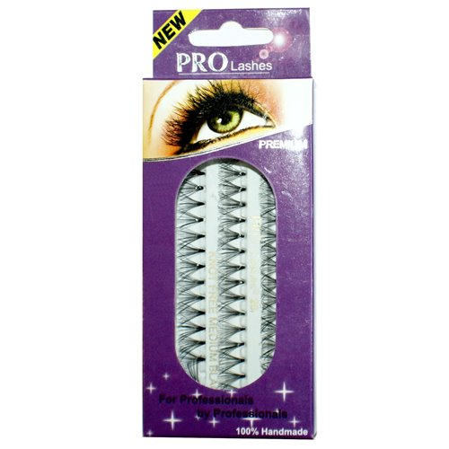 Pro Lashes 20 (Non-Packaging) Black - Knot Free Flare - 105 packs/box