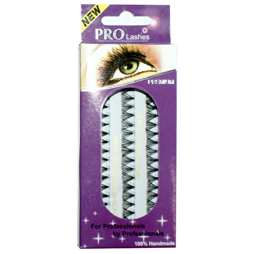 Pro Lashes Triple (Non-Packaging) Black - Knot Free - 105 packs/box