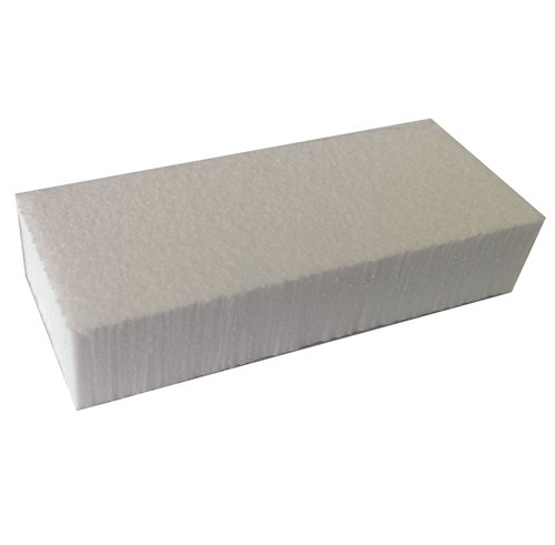 Small Long WHITE/WHITE Buffer - 1000ct/box