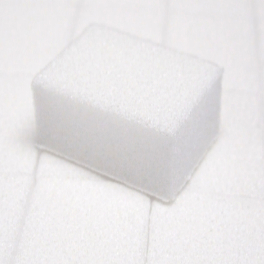 Small WHITE/WHITE Buffer - 1500ct/box