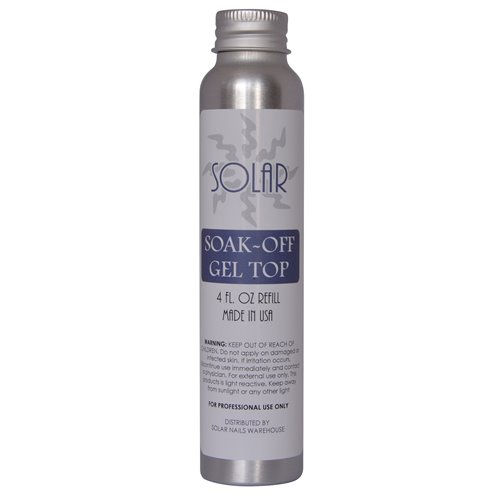 Soak-off LED/UV Gel Top - 4 oz Refill